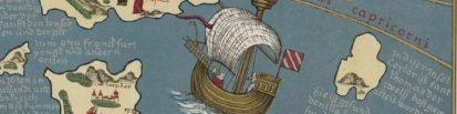 Nave en el mapa de Fra Muro
