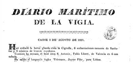 Dairio maritimo 1821