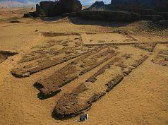 Una imagen del yacimiento, cuando se descubrieron estos barcos. Fuente: Ancient Origins
