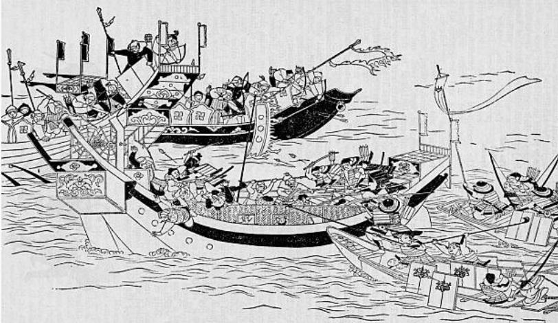 flota mongola segun Getty
