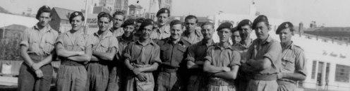 La tripulación del HMS Edinburg