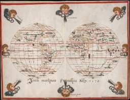 Mapa de Joan Martines (S. XVI). Fuente: BNE