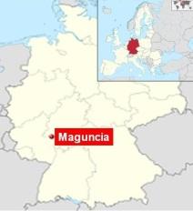 Localizacion Maguncia