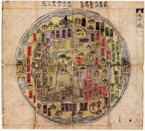 Mapa coreano XIX opt
