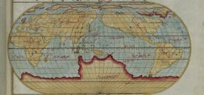 Mapa mundi de Piri Reis (S. XVI)