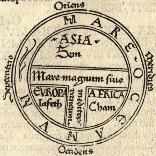 Mapa-O-T-Orbis-Terrarum-Cartografía-medieval