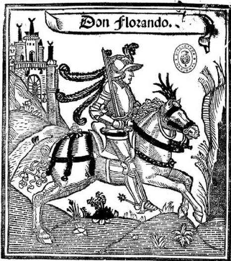 D Florando a caballo