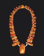 Collar spondylus cultura Validivia