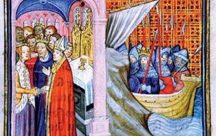 Boda de Leonor de Aquitania con el rey Luis de Francia
