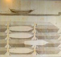 Imagen 3.2. Plano de invernada de las galeras. Fuente: Sitio de Suomenllina