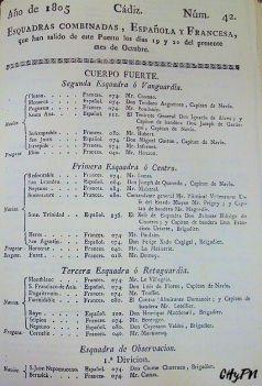 """Fragmentos del Diario de la Vigía impreso del 19 y 20 de octubre de 1805. Biblioteca de Temas Gaditanos """"Juvencio Maeztu"""". Fotos: Vicente Ruiz García"""