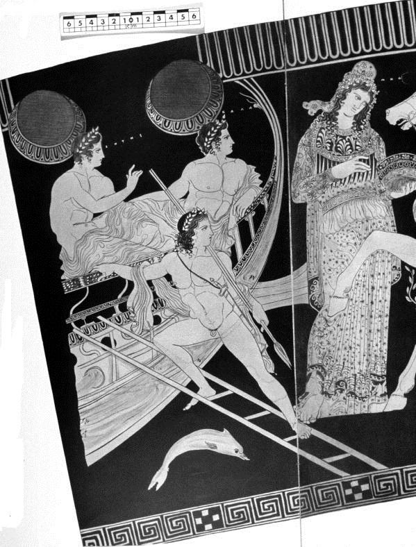 Argonautas (argo, Calias, Zetes) y Medea