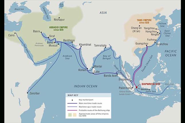 rutas comerciales