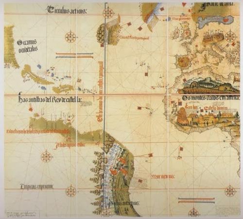 Trat Tordisllas Cantino 1502