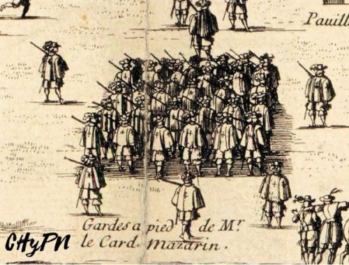 Mosqueteros de Mazarino