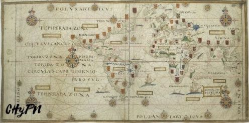 Planisferio S. XVI